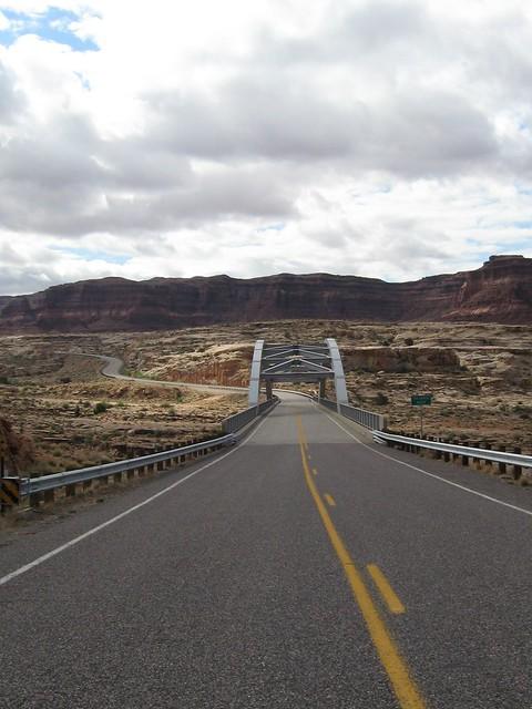 Bridge Over Colorado River at Hite Utah