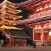 Tokio, chrám Sensō-ji, foto: Vladimír Šťastný