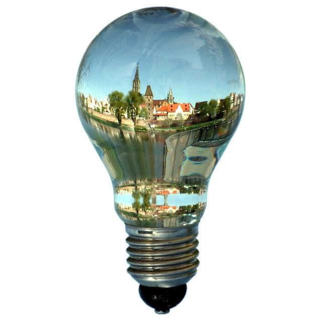 Ulm inside a bulb