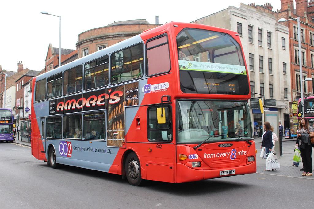 682 YN05WFP Nottingham City Transport