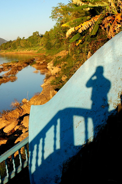 My Shadow and the Mekong River