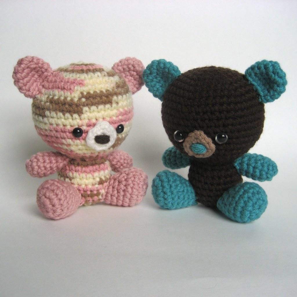 Free Teddy Bear crochet pattern - Amigurumi Today | 1024x1024