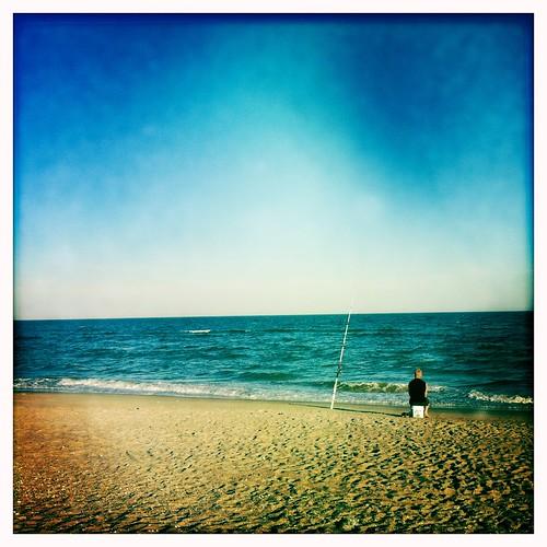 beach water fishing queens rockaway johnslens hipstamatic blankofilm
