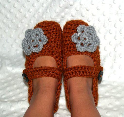 Crochet Mary Janes for Women