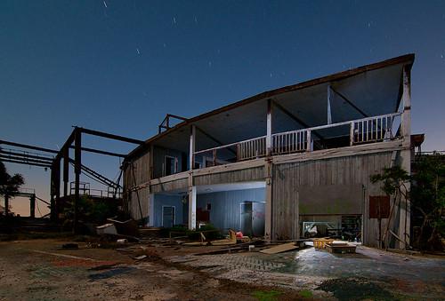 galveston abandoned night theater moody texas mary amphitheater northen