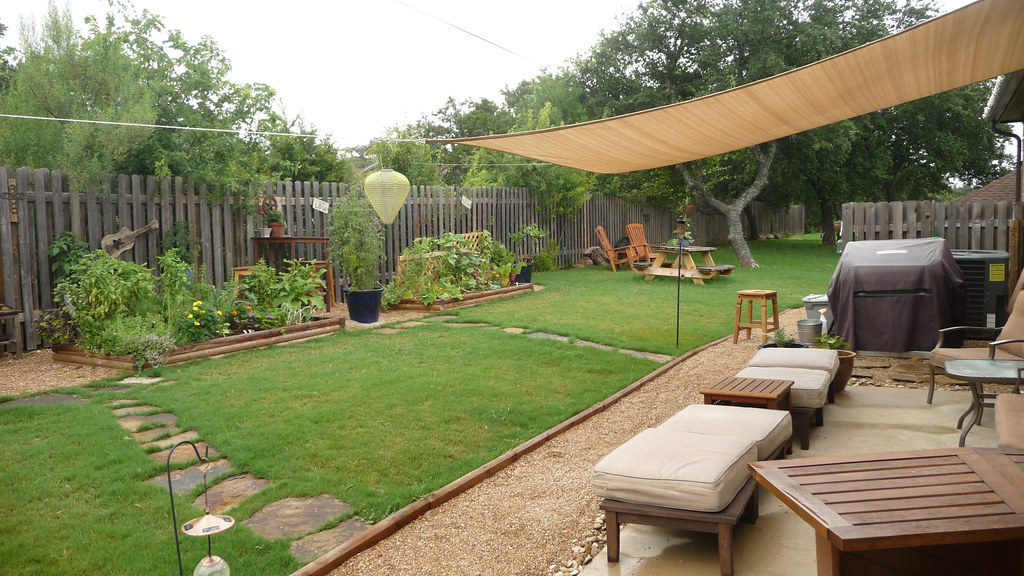 Love Life Gardens With Our New Sail Shade Korye Logan