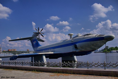 "Ground effect vehicle A-90 Orlyonok. Экраноплан ""Орлёнок"" | by Peer.Gynt"
