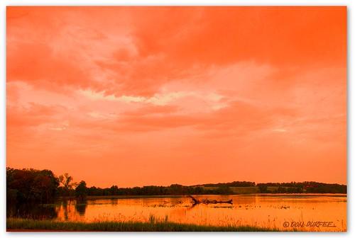 nature water river landscape flooding south dakota picnik