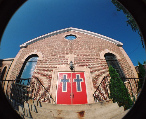 Church steps and doors | by kevin dooley