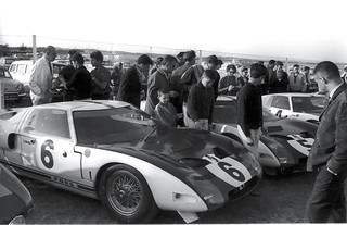 Ford GT 40's at the 1964 12 Hours of Reims. | by Nigel Smuckatelli