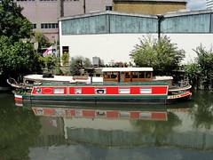 Barge at Brentford Docks