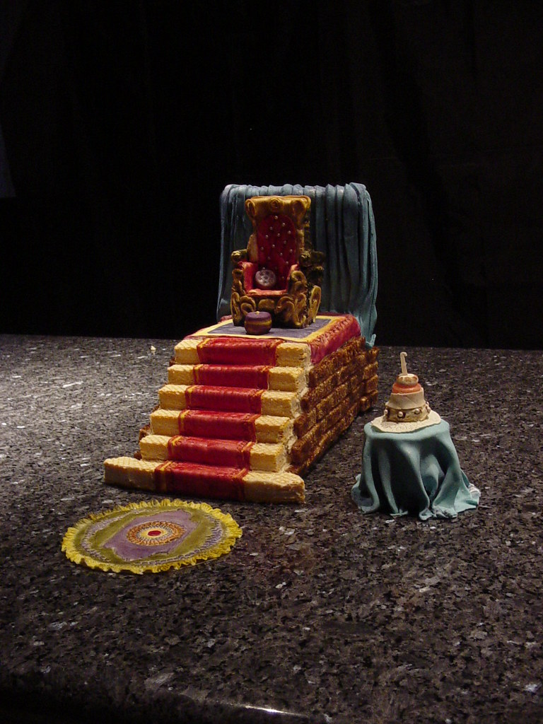 Throne Cake With Rug Table ( Stairway To Heaven )   Vegan ...