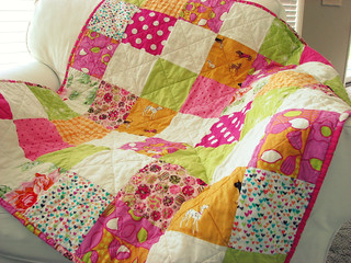 Sunny Squares Quilt | by BlueElephantStitches