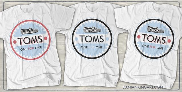 TOMS tees