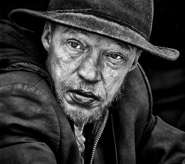 The Solitary Stare of the Homeless