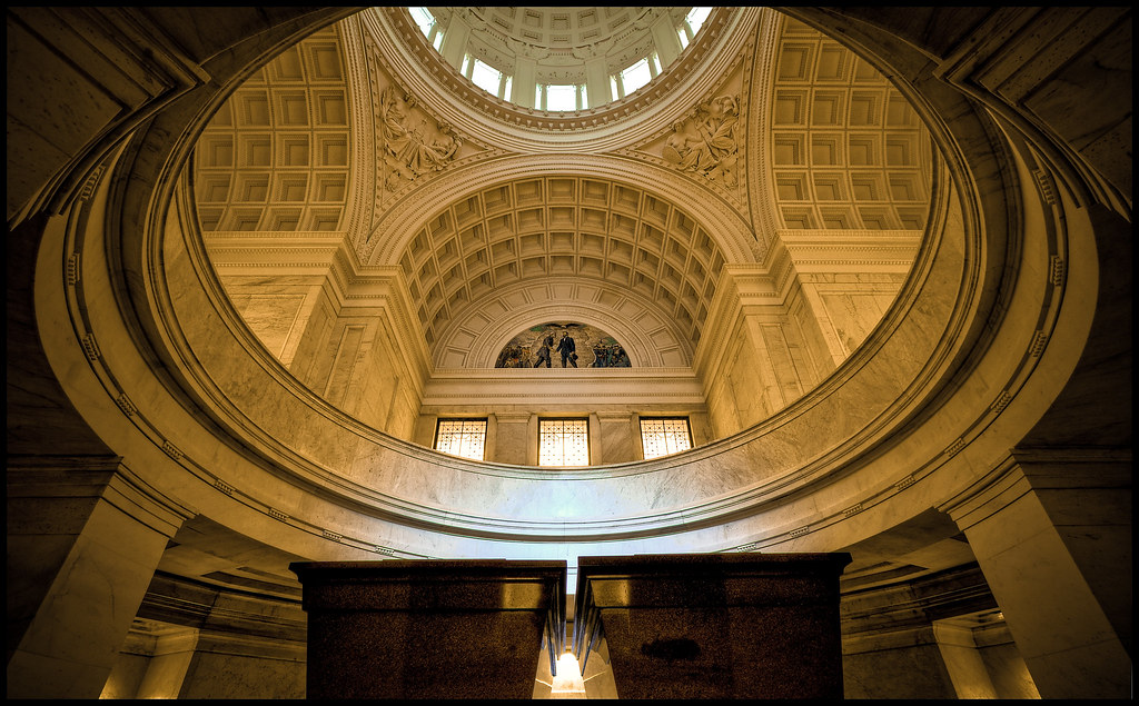 Inside Grant S Tomb General Grant National Memorial As