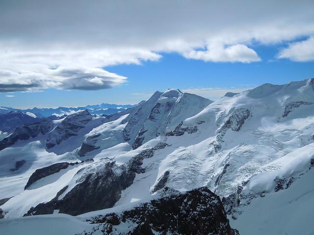 Biancograat, Hoogalpiene beklimming