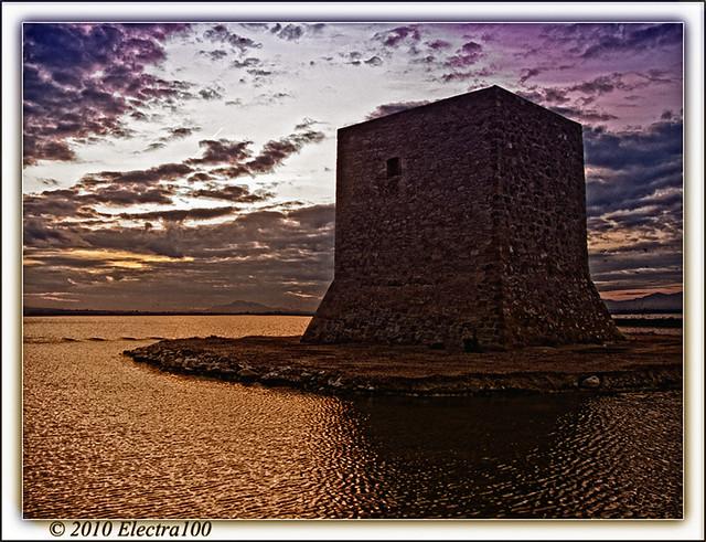 Una torre, muy fotografiada.