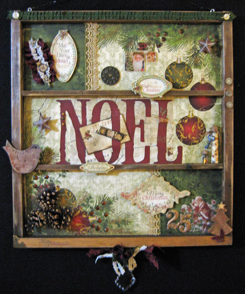 foto de Noel Vintage Wall Decor | Noel Vintage letter press tray wal… | Flickr