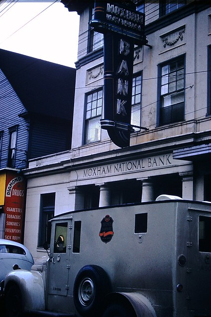Found Photo - Moxham National Bank - Johnstown, Pennsylvania