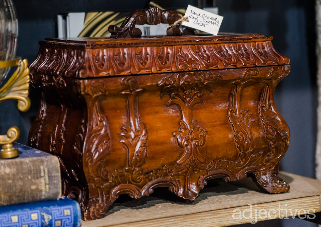 Hand crafted chest by Midnight in Vintage in Adjectives Winter Park