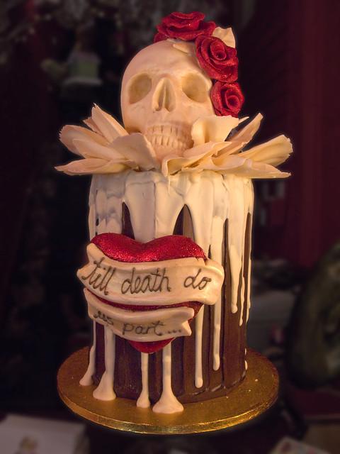 Choccywoccydoodah Wedding Cake 3