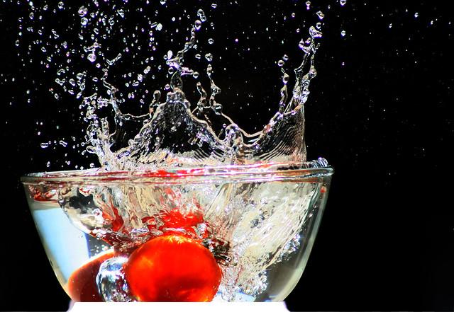 just a splash..........( on  explore )