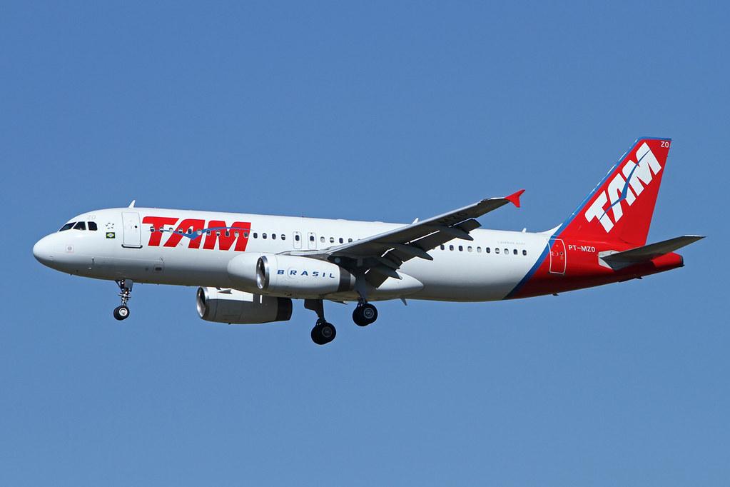 TAM   A320-231   PT-MZO