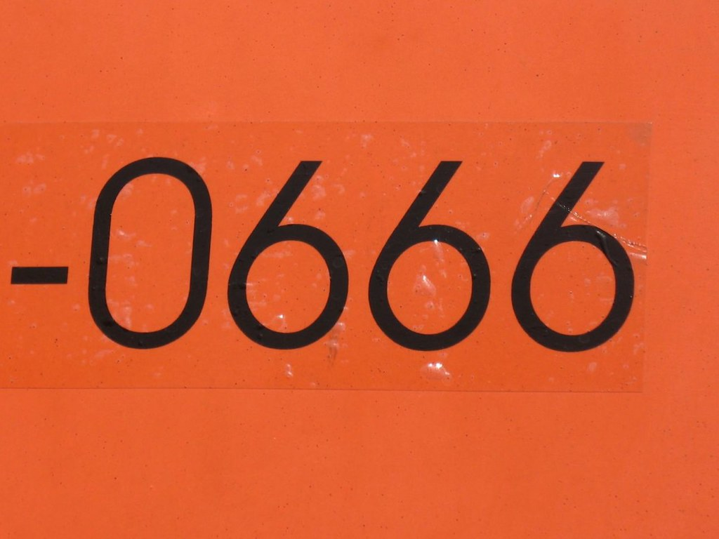 The Devil's Phone Number | amy's pixels | Flickr