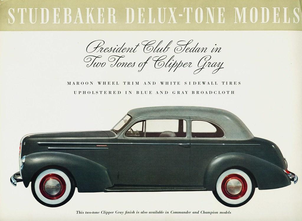 1940 Studebaker President Club Sedan