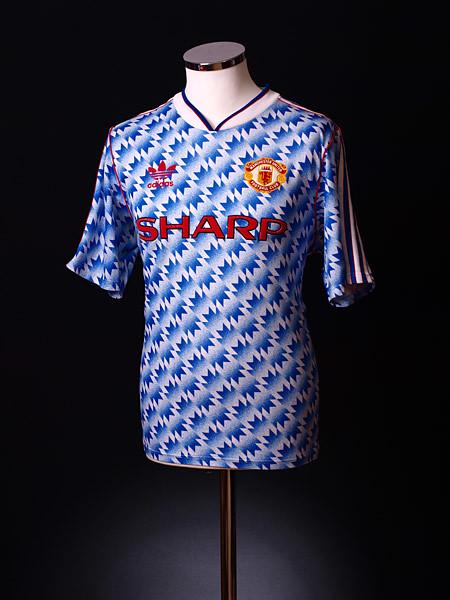 37549fc103e ... Manchester United 1990-92 Adidas Away Shirt