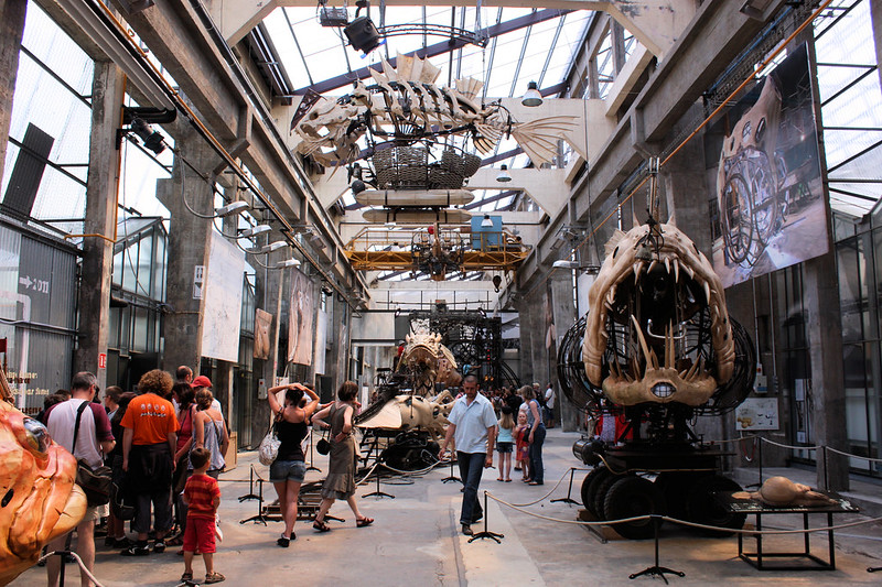 La Galerie des Machines // The Gallery of the Machines