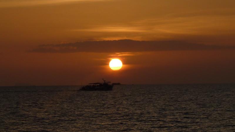 Koh Samui Sunset サムイ島 夕日1