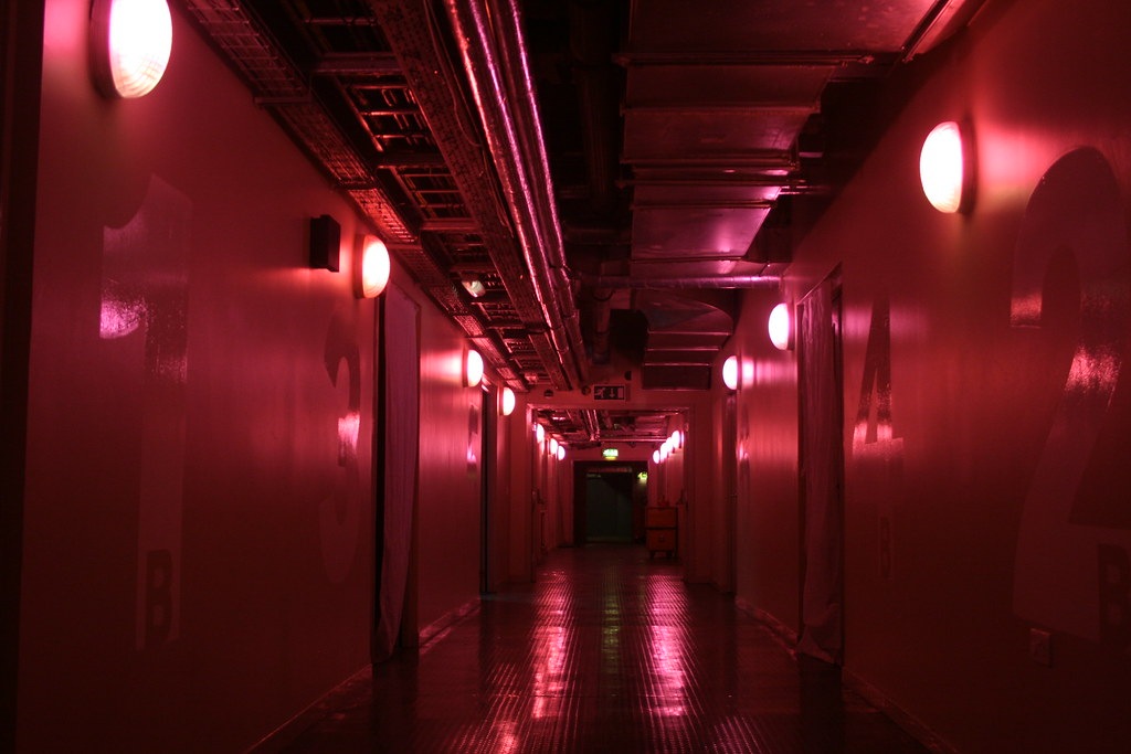 Arches corridor