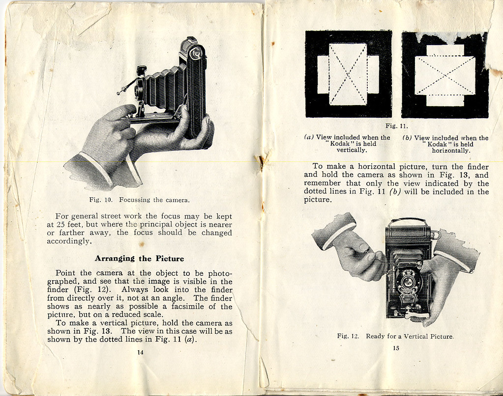 kod09   Kodak 1 and 1a autographic owners manual page, part \u2026   Flickr