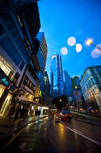 Hong Kong Soho Night Life