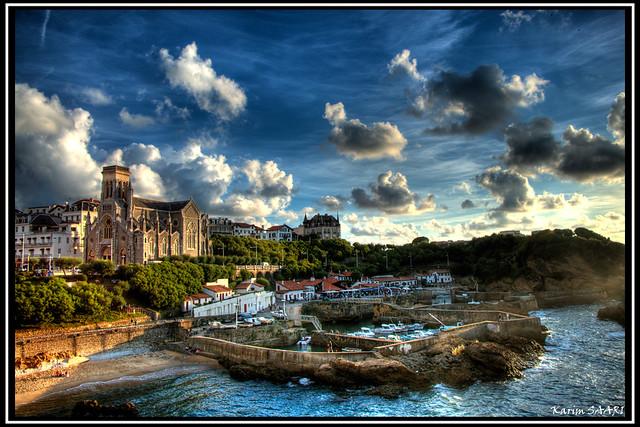 Biarritz port des pêcheurs par karim SAARI