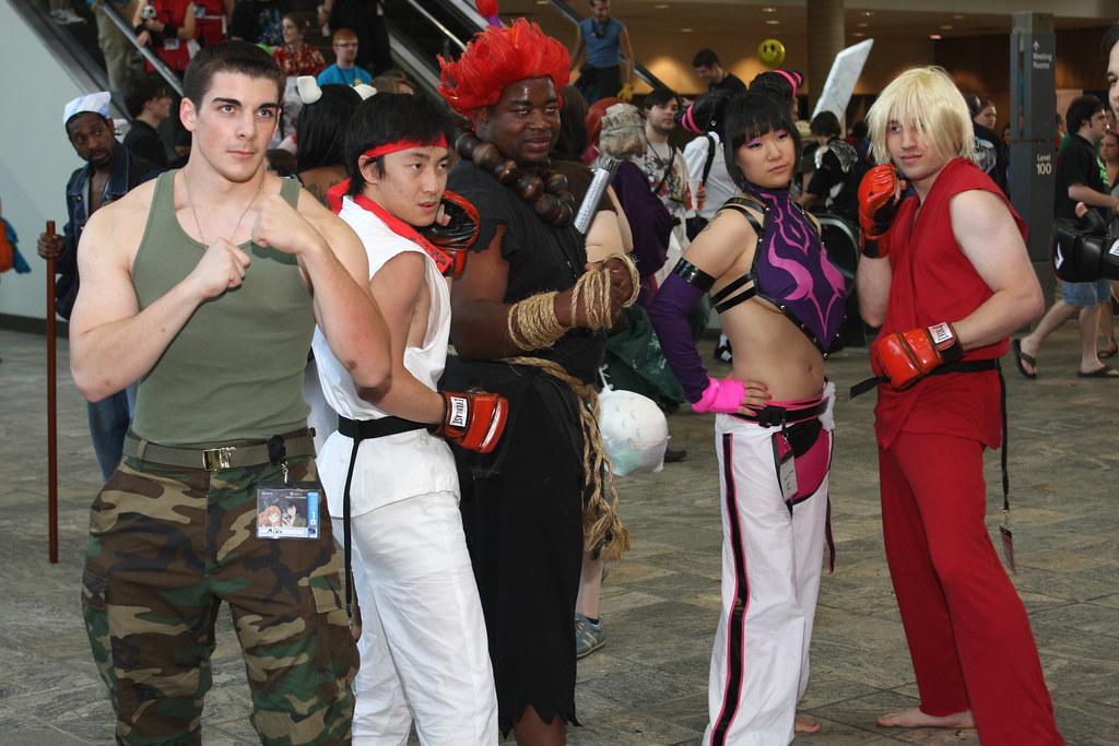 Guile Ryu Akuma Juri Ken From The Street Fighter Ser Flickr