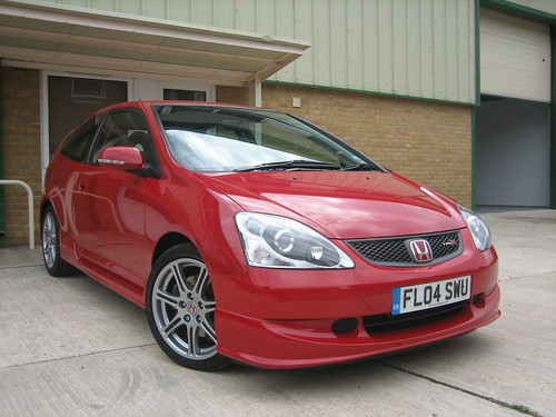 2004 Honda Civic Type-R 2.0i-VTEC Milano Red | by Steve Coulter Performance Cars