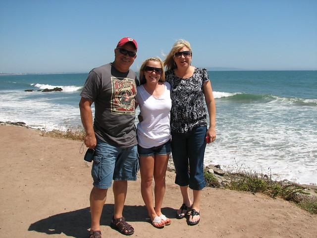 The Davis Family at the Beach