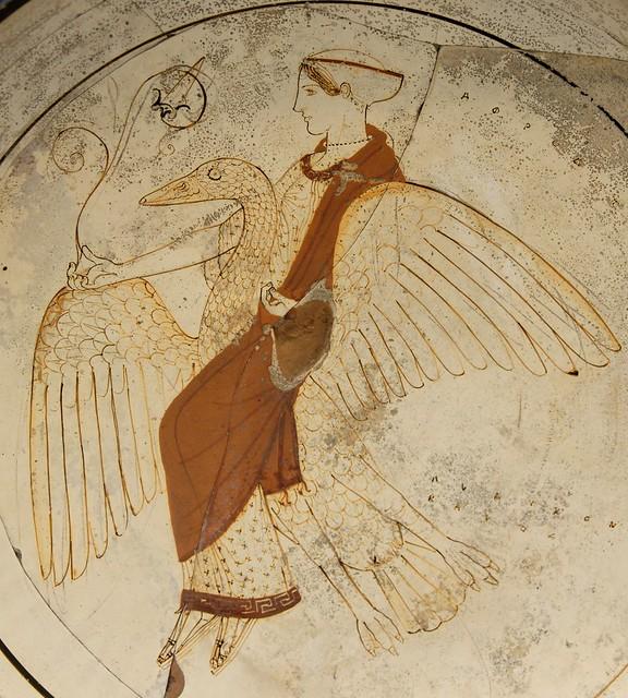-0460 Afrodita y el cisne