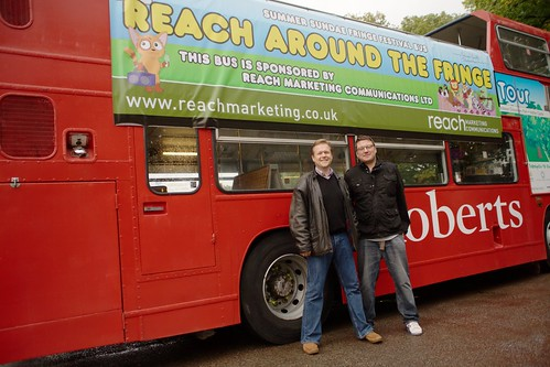 Fringe Bus Promo Shot
