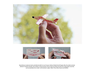 Business Card for Norburn Model Aircraft Supply | by JeffHarrison1