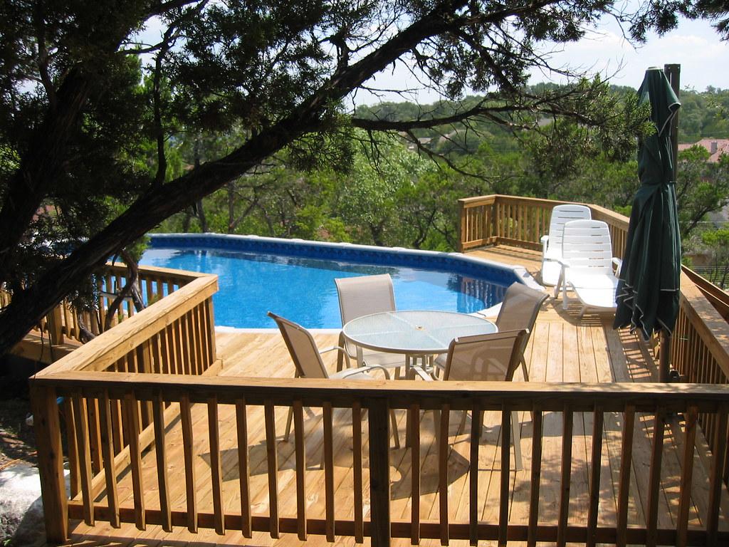 Oval Above Ground Pool San Antonio Tx Imagine