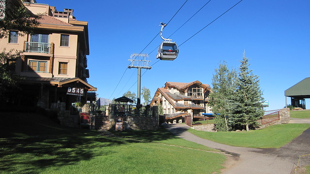 Views of the Gondola during the Telluride Festival of the Arts