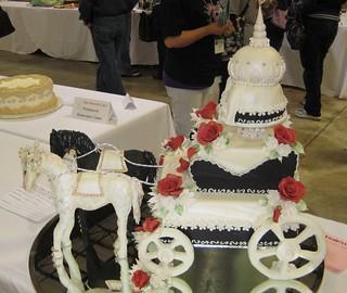 Carriage Wedding Cake | by Dork-Chocolate