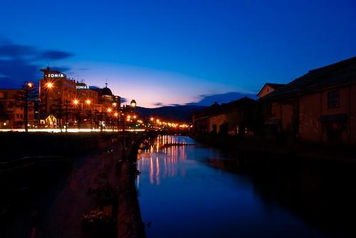 street light sunset silhouette japan canal hokkaido 北海道 日本 otaru 小樽運河 hokaido lightroom 路灯 小樽 运河 mywinners platinumphoto 小樽运河 youhavetoscorepeopleinthescoremegroup