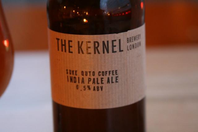 The Kernel Brewery's Coffe IPA at Mason & Taylor, London