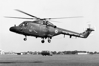 XZ689, Westland Lynx HAS.2, 702 Squadron, RNAS Lee-On-Solent, 25/09/1979