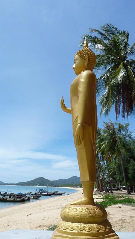 Koh Samui Buddha @Wat Napharan  サムイ島海を見つめるブッダ0